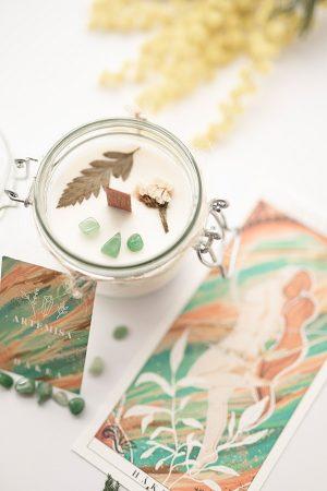 vela-aromatica-de-soja-ecologica-artemisa-bergamota-4